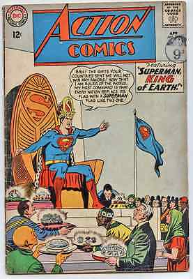 Action Comics 311 1964 superman King of the Earth.rare