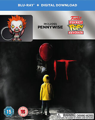 It (with Pennywise Funko Pop! Keychain) [2017] (Blu-ray)