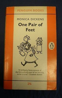 One Pair of Feet. Antiquarian Penguin Book by Monica Dickens -B