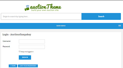 Exclusive Auction Theme Website Free Installation + Free Hosting