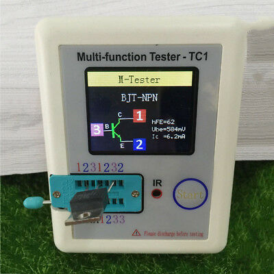 LCR-TC1 TFT Screen Display Multi-functional TFT Backlight Transistor Tester TOP