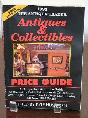 The Antique Trader Antiques and Collectibles Price Guide by Kyle Husfloen (1992,