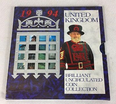 1994 United Kingdom Brilliant Uncirculated Coin Collection