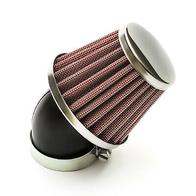 K+N Style Red Air Filter 38mm Bent Neck Pit Bike Dirtbike 110cc - 125cc Pitbike