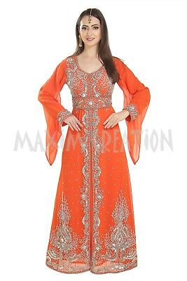 b380e4fe87 Byzantine Nikkah Dress Ladies Walima Gown Perfect For Wedding Occasion 7196