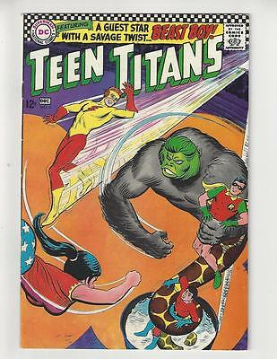 Teen Titans #6/Silver Age DC Comic Book/Beast-Boy Tryout Issue/VF