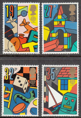 Sg1436-1439 1989 Games & Toys Europa ~ Unmounted Mint