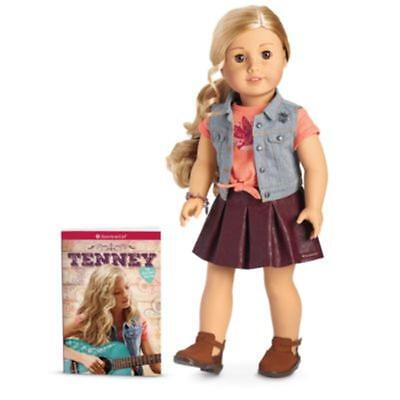 American Girl Tenney Doll & Book - FREE DHL DELIVERY