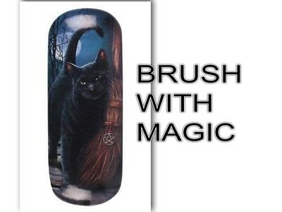 Lisa Parker Hard Glasses Case with cleaning cloth Brush with magic LP03717 CAT