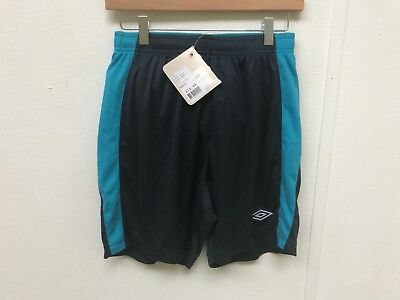 Umbro Men's Football Sports Poly Training Shorts - Various Sizes - New