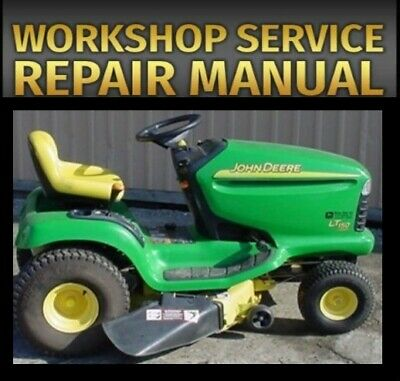 SERVICE MANUAL FOR JD LT150 LT160 LT170 LT180 Repair Manual TM1975