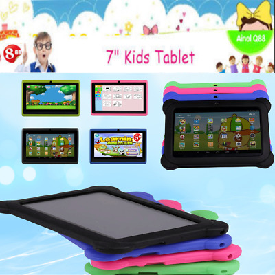 """7"""" Inch Android Tablet 4/8GB Quad Core 4.4 Dual Camera Bluetooth Wifi Tablet LOT"""