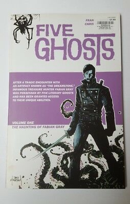 BRAND NEW five ghosts the haunting of Fabian Gray V1 book - magazine collectable