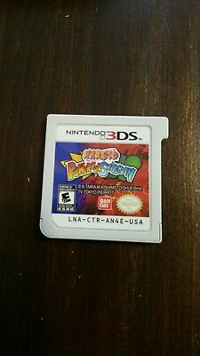 Naruto Powerful Shippuden (Nintendo 3DS, 2013) Cartridge Only