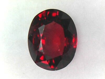 Spinelle Rouge Certifié GLC - Birmanie - 1,28 Carat - Red Spinel from Burma !!!