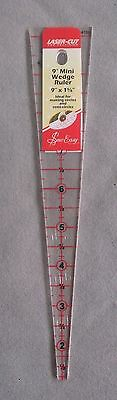 SEW EASY 9 inch x 1.5/8 inch WEDGE RULER PATCHWORK CRAFTING BRAND NEW