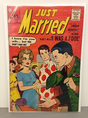 Just Married April 1963 Comic Book #30 - VG