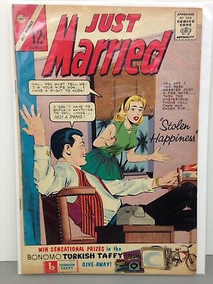 Just Married October 1963 Comic Book #33 - VG -VG/FN