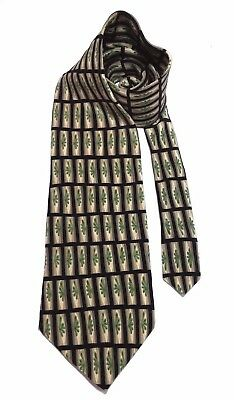 "COCKTAIL COLLECTION WINE By Stonehence Men's Tie 57"" X 4"" 100% Silk Multi-Color"