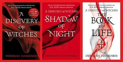All Souls Trilogy All 3 books Discovery of Witches Shadow of Night Book of Life