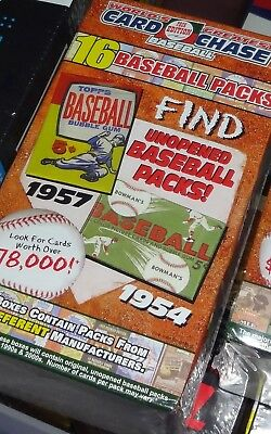 World's Greatest Card Chase Box 16 Packs Baseball $78,000?