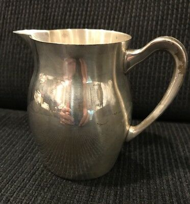 Vintage Sterling Paul Revere Reproduction Creamer By Poole, 150 Grams