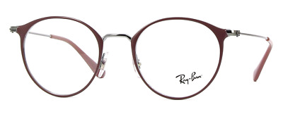 c5bf981c28c New Authentic Ray Ban Unisex Eyeglasses Rb6378 2907 Turtledove  Gunmetal  49-21