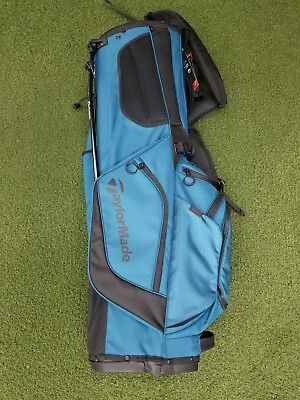 New Taylormade TM17 Flextech Crossover 14-Way Golf Stand Bag Teal/Black