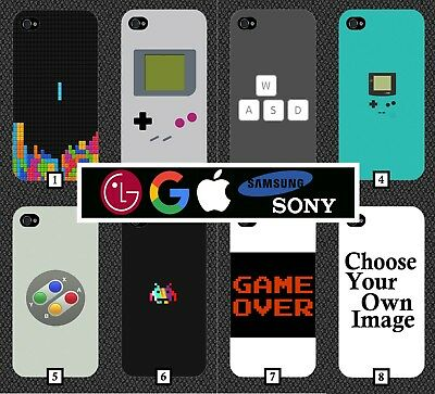 Retro Gaming Style Phone Case Cover Design Vintage Gamer Games Video Games 220