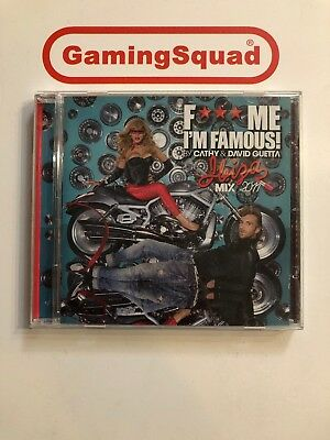 F*** Me I'm Famous, Ibiza 2011 Cathy & David Guetta CD, Supplied by Gaming Squad
