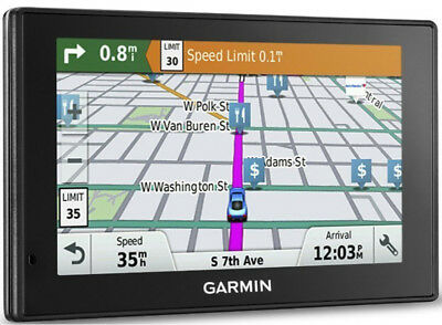"Garmin Drive 50LM 5"" Auto GPS With Lifetime Continental US Maps 010-01532-0C"