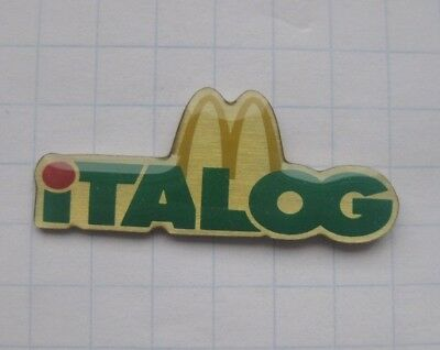 M / ITALOG  ...................Mc DONALD`s -Pin (169i)