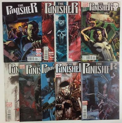 Punisher #9 to #16 (Marvel 2011) 8 x hi grade issues.