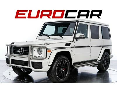 G-Class G63 AMG 2017 Mercedes-Benz G63 AMG Automatic 4-Door SUV