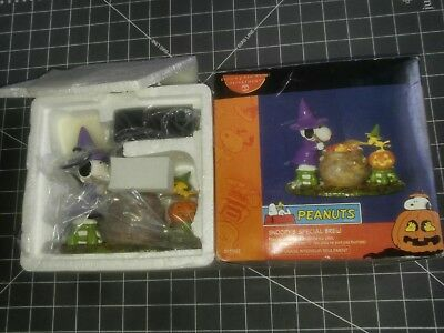 Rare NEW department DEPT 56 PEANUTS HALLOWEEN Accessory SNOOPY'S SPECIAL BREW