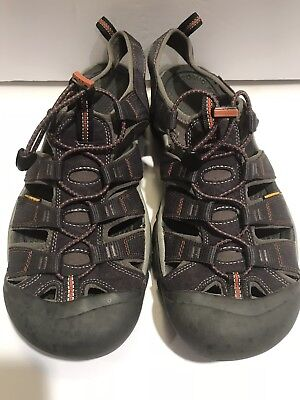 2618137f936 Keen Mens Newport H2 Water Shoe Hiking Trail Sandals 110230 Navy/Grey Size  13