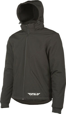 Fly Racing - 477-2009S - Armored Tech Hoodie Black Sm