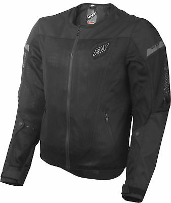 Fly Racing - 477-4070L - FLUX AIR JACKET BLACK LG