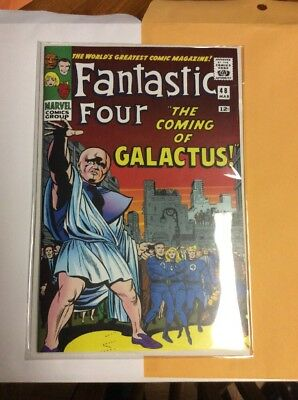 Fantastic Four #48 With Virgin homage Back covers