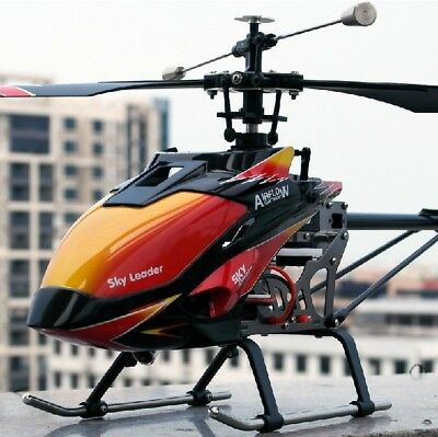 Large 27inch 2.4G 4CH Helicopter RC Remote Control Single Blade 4 Channel US