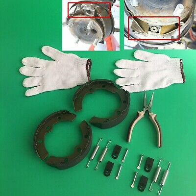 (4) Club Car Brake Shoes (1981-1994) DS Gas or Electric Golf Cart & Springs Kit