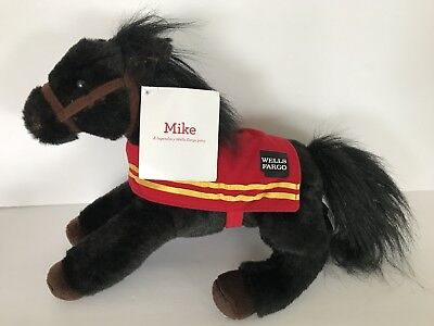 Wells Fargo Legendary 2016 Plush Pony Mike Limited Edition Horse Clydesdale