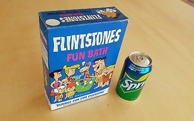 "RARE Vintage 1971 ""Flintstones Fun Bath"" 18 OZ Size Unopened Bubble Bath Soap"