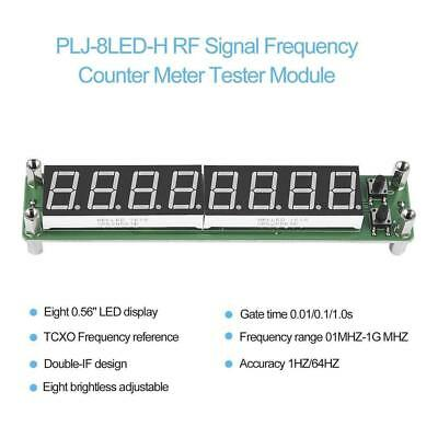 PLJ-8LED-H RF Signal Frequency Counter Meter Tester Module 0.1~1000MHz LED New