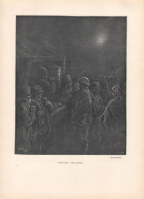 BILL BRANDT  * ORIGINAL HELIOGRAVURE from VERVE 1939 very rare GUSTAVE DORE