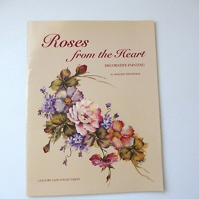 Roses from the Heart Decorative Painting by Raelene Stratfold booklet