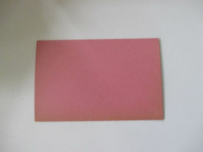 100 pink letterpress printers Business cards. Blanks -New old stock