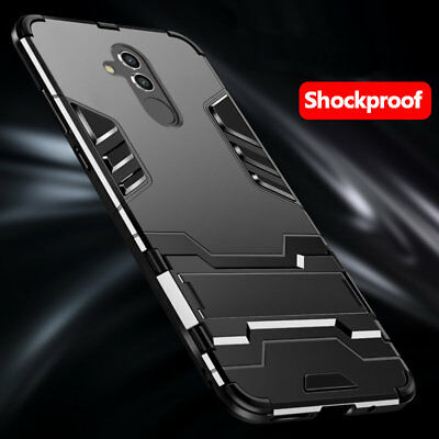 For Huawei Mate 20 Lite 10 9 Pro Hybrid Rugged Armor Shockproof Case Stand Cover