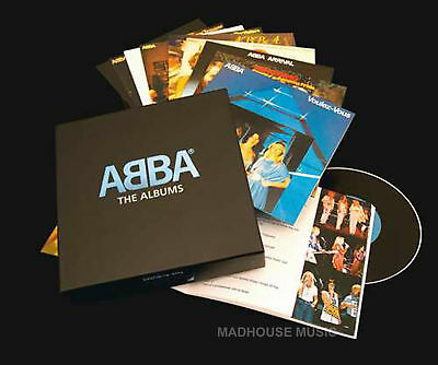 """ABBA  """"The Complete Albums""""  9 CD BOX NEW SEALED Free Shipping!"""