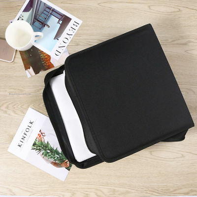 320 Sleeve CD DVD Blu Ray Disc Carry Case Holder Bag Wallet Protector Storage